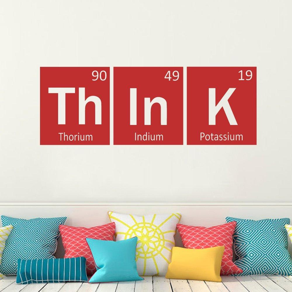 Elementos de la tabla peri dica adhesivos de vinilo think - Adhesivos de vinilo ...